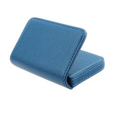 Unisex leather card holder Exquisite Magnetic Attractive Card Case for Men/Women
