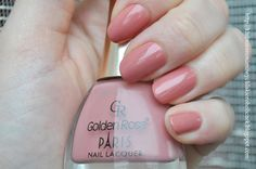 Klub Nieanonimowych Lakieroholiczek: Golden Rose Paris nr 27