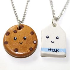 The new bff gift. Milk And Cookie Necklaces