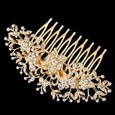 art nouveau hair comb gold - Google Search