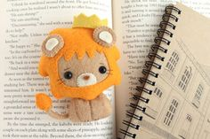 PDF Pattern Felt Lion Nogget Plush by typingwithtea on Etsy