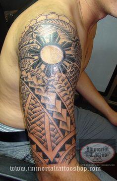 Tattoo Manila Philippines by Frank Ibanez Jr Filipino Tribal Tattoo