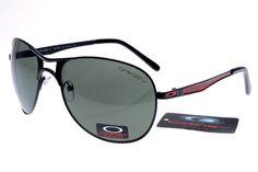 Oakley Plaintiff Sunglasses Black Red Frame Green Lens 0858 [ok-1883] - $12.50 : Cheap Sunglasses,Cheap Sunglasses On sale