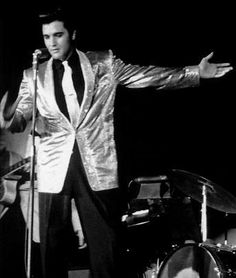 Elvis: Charity Concert for U.S.S. Arizona, March 1961.