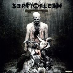SepticFlesh - The Great Mass 2011. Cover by Seth Siro Anton.