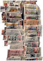 Presse écrite : 10 séquences de découverte Nous proposons ainsi d'aborder la presse imprimée à travers :      le feuilletage des journaux et leur organisation en rubriques,     l'écriture des titres,     l'écriture journalistique,     le langage des photos de presse,     la hiérarchie de l'information.