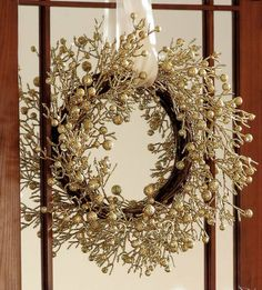 Gold Berries Christmas Branches Holiday Wreath Collections Etc Christmas Branches, Gold Christmas Ornaments, Christmas Diy, Christmas Decorations, Christmas Program, Christmas Things, Christmas Items, Merry Christmas, Wreaths And Garlands