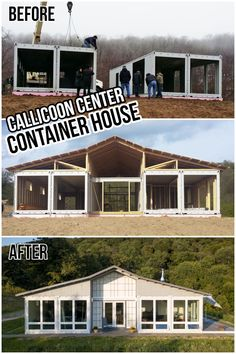 Tiny Container House, Shipping Container Cabin, Cargo Container Homes, Shipping Container Home Designs, Building A Container Home, Container Buildings, Container Design, Shipping Containers, Barn House Plans