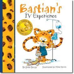 Bastian's IV Experience prepares small children for getting an IV, either in the ER, imaging center, pre-op etc At Educasia, we believe in honesty above all because it will increase trust in the medical professional and parent and simply is respectful to the child. Wait and see- your child will amaze you! The books can also be used to read to familiarize kids to medical procedures or can be read after the procedure to help the child talk about the experience.