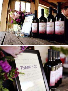Custom wine bottle labels   Darling Photos