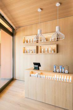 Idea 3118828: GSP   Domestic Hair Salon by PLUS ULTRA studio in Pesaro, Italy Studios Architecture, Architecture Interiors, Italy, Ceiling Lights, Retail, Furniture, Home Decor, Italia, Decoration Home
