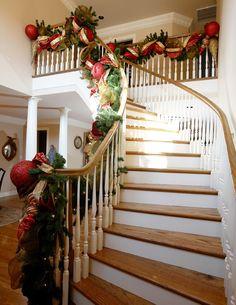 stair garland