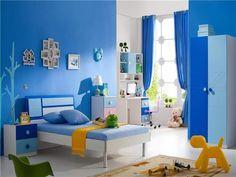 Set mobilier dormitor copii baieti 5 piese: pat, noptiera, dulap, borou si scaun Hall Wardrobe, Kids Room, Toddler Bed, House Design, Furniture, Home Decor, Homemade Home Decor, Room Kids, Kids Rooms