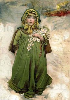 Shop Vintage Winter Snow Girl Postcard created by JustRightGraphics. Personalize it with photos & text or purchase as is! Christmas Rose, Christmas Tree Fairy, Victorian Christmas, Vintage Christmas Cards, Christmas Images, English Christmas, Christmas Postcards, Merry Christmas, Christmas Fabric