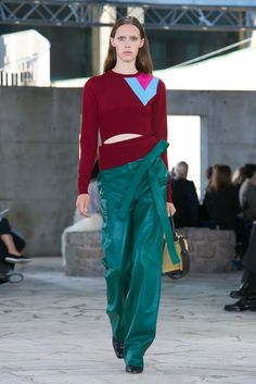 A look from the Loewe Spring 2015 RTW collection.