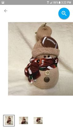 Sock Snowman, Snowman Wreath, Snowman Crafts, Christmas Snowman, Diy Christmas Gifts, Christmas Projects, Kids Christmas, Holiday Crafts, Xmas