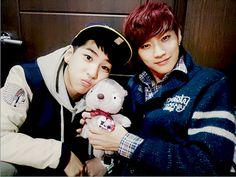 Baro and Jinyoung
