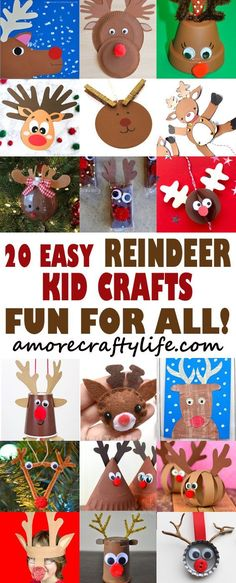 20 Christmas Crafts For Kids to Make CrAfTy 2 ThE CoRe~DIY GaLoRe