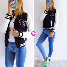 Últimas!  [CAMPERA UNIVERSITARIA] $650  No vuelve! Yo te avisé!  [JEAN TUCSON] $730  Local Belgrano Envíos Efectivo y tarjetas 3 cuotas sin interés Tienda Online www.oyuelito.com.ar  #followme #oyuelitostore #stylish #styles #fashion #model #fashionista #fashionpost #ootd #moda #clothing #instafashion #trendy #chic #girl #trends #outfitoftheday #selfie #showroom #loveit #look #lookbook #inspirationoftheday #modafemenina