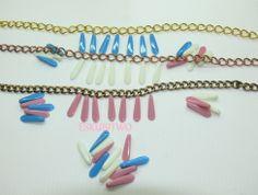 Dagas de cristal DIY collares, pulseras...