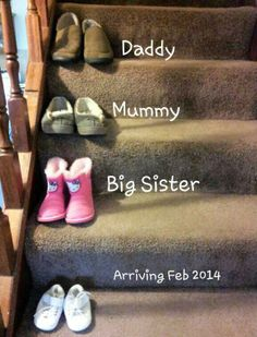 my 2nd baby announcement, July 2013
