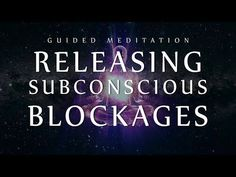 Guided Meditation for Releasing Subconscious Blockages (Sleep Meditation for Clearing Negativity) - YouTube