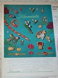 1971 ad page - Krementz Jewelry karat gold fashion vintage PRINT ADVERT Clipping #Krementz