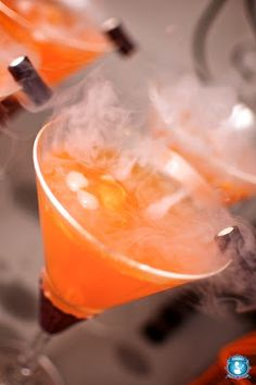 Cheers to halloween: I didn't know you could consume dry ice. I need to do a search on that one.