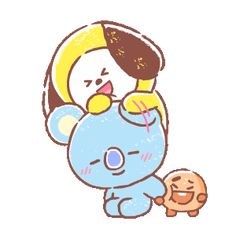 The perfect Chimmy Koya Shooky Animated GIF for your conversation. Discover and Share the best GIFs on Tenor. Bts Chibi, Billboard Music Awards, Line Friends, Bts Drawings, Bts Fans, Line Sticker, Bts Lockscreen, Album Bts, Cute Characters
