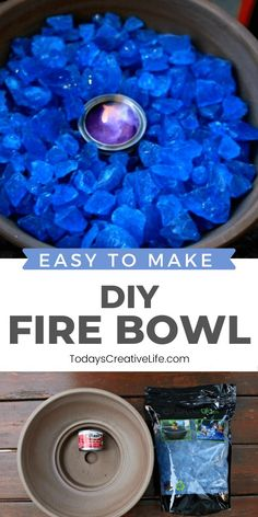 Diy Home Decor Projects, Outdoor Projects, Garden Projects, Projects To Try, Outdoor Crafts, Decor Ideas, Garden Ideas, Diy Ideas, Tabletop Fire Bowl