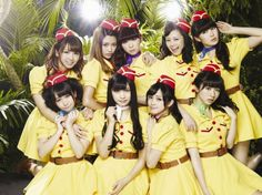 """PASSPO☆ reveal jacket covers for their upcoming single """"STEP / Candy Room"""""""