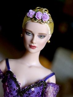 "#pinned ""Morning Mist: Tonner Ballets Morning Mist from 2013  She uses the Daphne sculpt."" submitted by Alison #dollchat - new to dollduels.com ^kv"