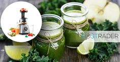 Let's get started with the spring renewal in the kitchen! Check out our weekly specials and get Sencor's excellent juicer for less than EUR 70 and make healty and tasty smoothies or veggie juice. https://postrader.ee/weekly-promotion