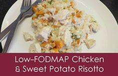 Low-FODMAP Chicken & Sweet Potato Risotto