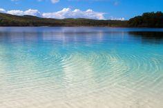Lake Mackenzie - Fraser Island, Australia