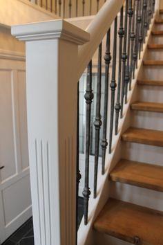 Jaren 30 stijl Archieven - De Vries Trappen Open Trap, Home Remodeling, Entryway, New Homes, Stairs, Places, House, Ursula, Home Decor