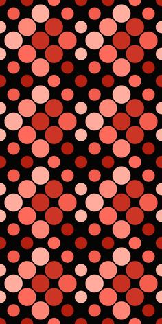 Seamless Background, Red Background, Red Wallpaper, Iphone Wallpaper, Color Patterns, Dot Patterns, Vision Art, Pattern Photography, Red Dots
