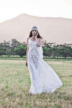 10 Ethereal Wedding Gowns: Bo & Luca