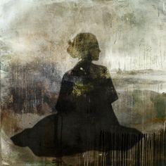 "Saatchi Online Artist eva christin laszka; Painting, ""Longing"" #art #AlainDeBotton"
