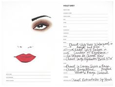 Chanel's New Red Featuring Kristen Stewart l Get the Look l The Violet Files l @violetgrey
