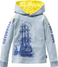 Oilily Boys Spring Summer 2014  Tent T-Shirt with hood Available at www.yourchildrenswardrobe.com
