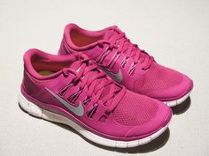 NIKE WOMEN RUNNING SHOES FREE 5.0 MAGENTA SIZE 8 NEW 580591-535 #Nike #RunningCrossTraining