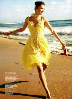 Luv to Look | Luxury Fashion & Style: Cute yellow dress for summer