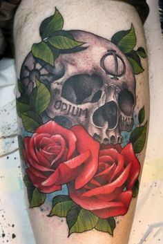 We are a tattoo studio based in Central London UK. We have 10 exceptional tattoo artists Rodrigo. Skeleton Tattoos, Skull Tattoos, Rose Tattoos, Skull Tattoo Flowers, Flower Skull, Zombie Pin Up, Garden Tattoos, Death Tattoo, Cool Tats