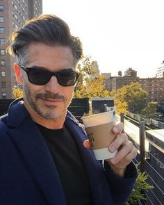 48b02d2d96 Eric Rutherford wearing Tom Ford FT0336 sunglasses.
