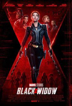 Black Widow 2020 Scarlett Johansson Natasha Romanoff movie new action poster Marvel comic movie quality print