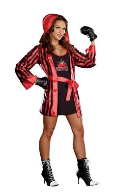New Sexy Halloween Adult Women's Scout Girl Costume Size Sm / Med Sizes 2 - 6 Boxer Halloween, Halloween Costumes For Teens, Adult Costumes, Costumes For Women, Female Costumes, Adult Halloween, Costume Halloween, Halloween Ideas, Boxer Costumes