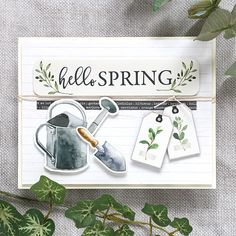 L🌸V E this kit from @simonsaysstamp It screams SPRING!!! #ssscardkit #sssck Card Making Inspiration, Making Ideas, Choose Joy, Greeting Cards Handmade, Handmade Tags, Mothers Day Cards, Fall Cards, Simon Says Stamp, Card Kit