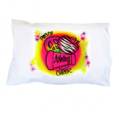 Personalized Cheer Pillowcase