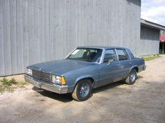 1981 Chevrolet Malibu Sedan (POLICE PACKAGE) 5.7 LITER 4BBL V8/TH350 auto/3.08 Posi & HD suspension/cooling